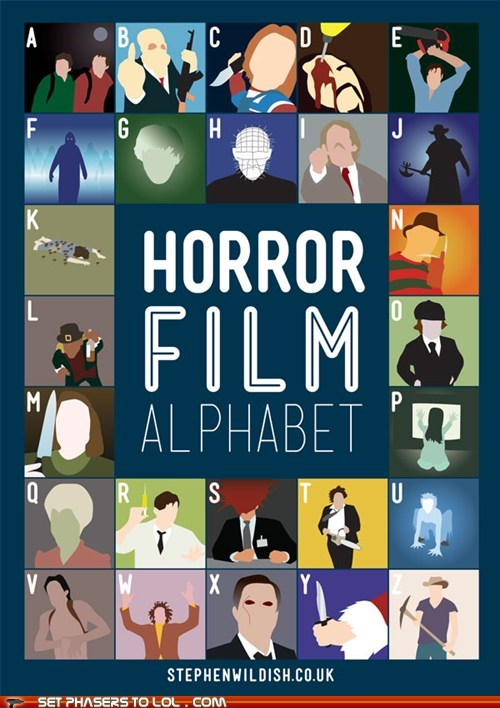 alphabet,challenge,film,guess,horror,movies