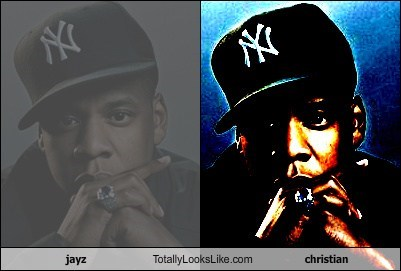 jayz Totally Looks Like christian