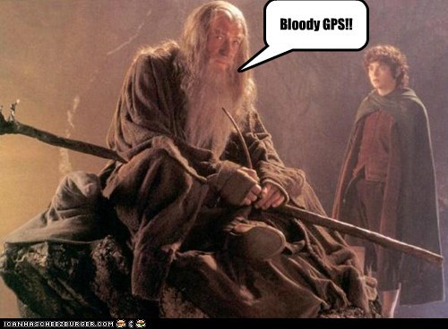GPS Does Not Simply Work in Mordor