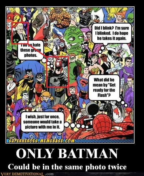 batman,bruce wayne,same photo,twice,funny