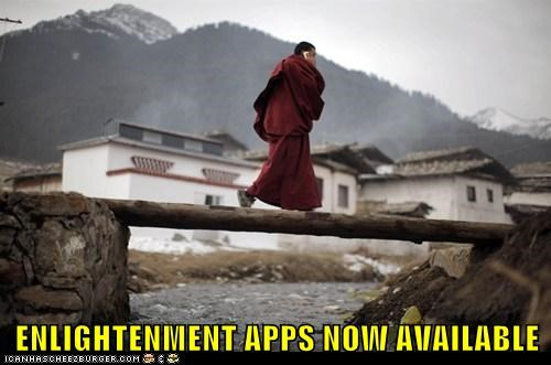 apple,buddhism,enlightenment,iphone,political pictures