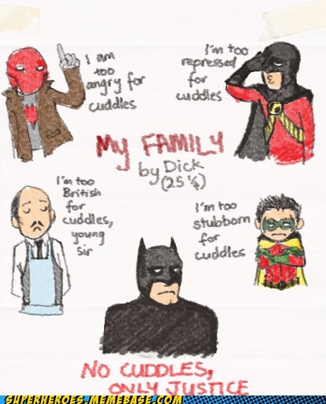 Superheroes: Cuddles Are for Chumps