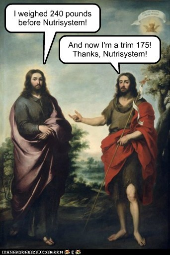 Blessed Art Thou, Nutrisystem!