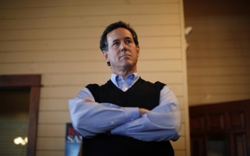 Santorum Santorum Says of the Day