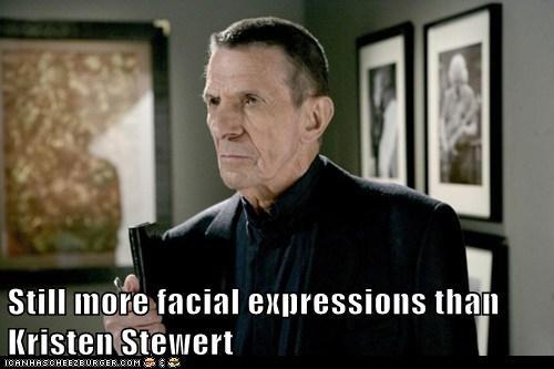 Fringe,kristen stewart,Leonard Nimoy,still more expressions,Vulcan,william bell