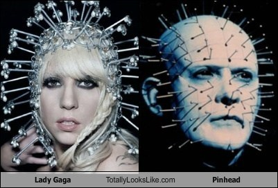 Lady Gaga Totally Looks Like Pinhead