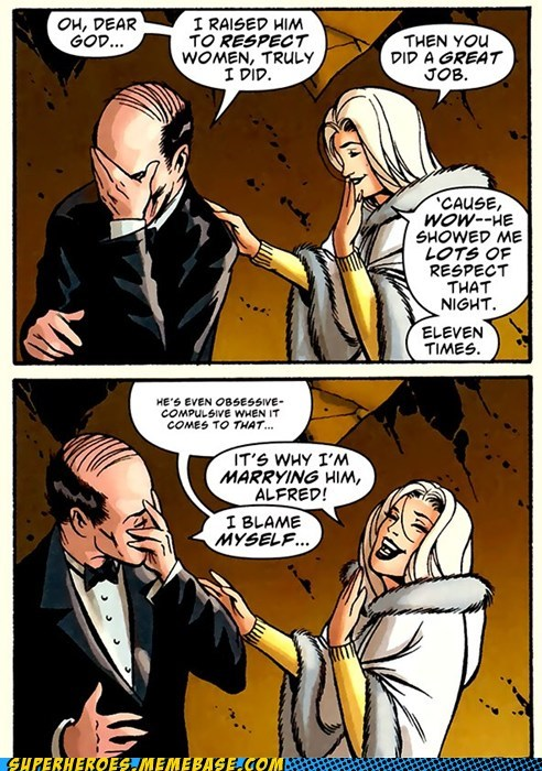 Alfred's Just Jealous