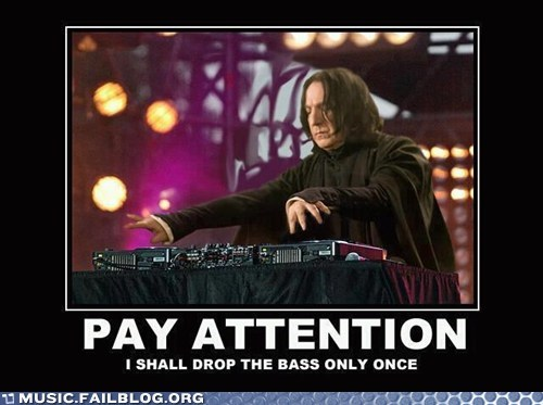 Music FAILS: Mix-Master Snape