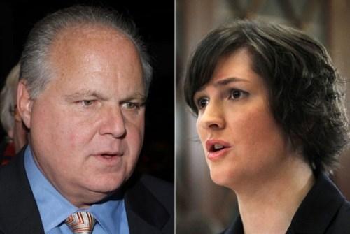 Birth Control Debate,Rush Limbaugh,Sandra Fluke