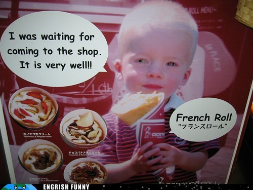 That Kid is Just Plain Crêpe...