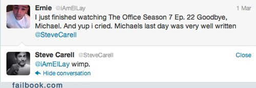 Michael Scott Responds to a Fan