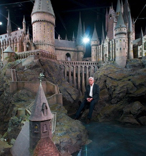 Hogwarts Movie Model of the Day