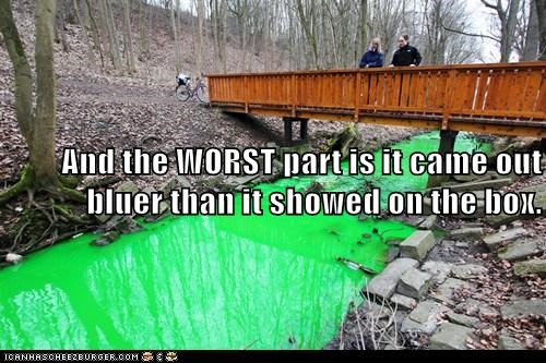 green river,political pictures,pollution