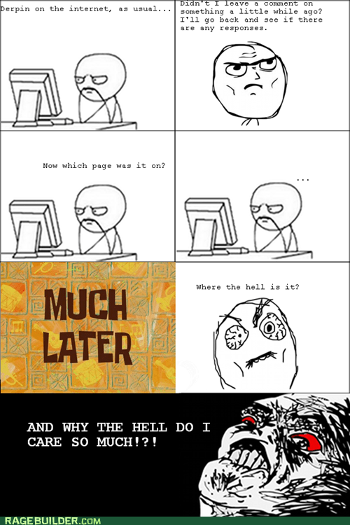 Rage Comics: Because Someone Was WRONG in the Comments