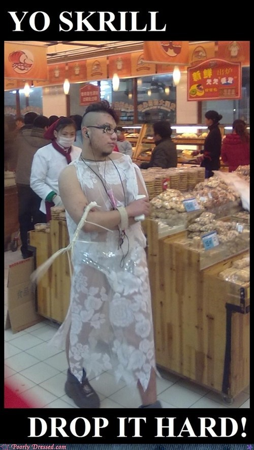 China,dress,man,skrillex