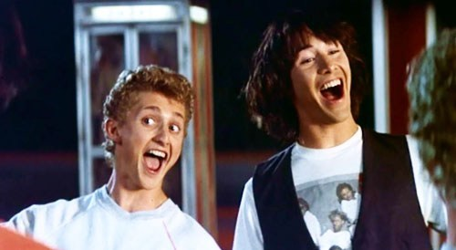 Bill and Ted 3 News of the Day