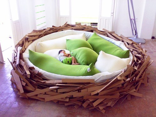 Human-Sized Bird's Nest of the Day
