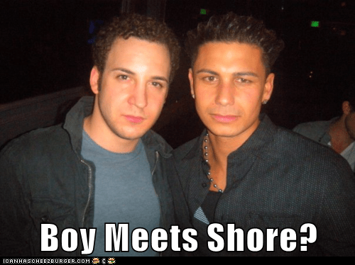 Boy Meets Shore?