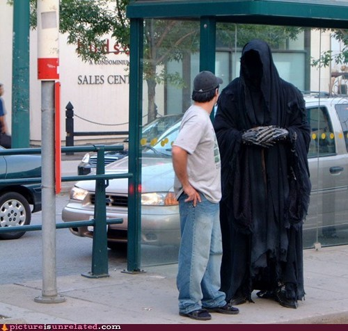 bus,Lord of the Rings,Nazgul,public transit,ringwraith,wtf