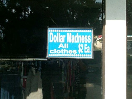 Dollar Madness FAIL