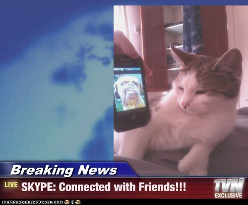 Breaking News - SKYPE: Connected with Friends!!!