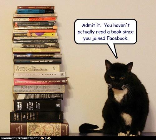 Lolcats: An Bookz Abowt Facebook Doan Cownt!