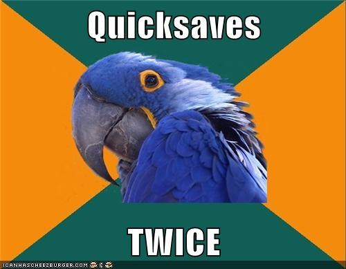 Quicksaves  TWICE