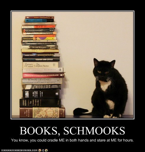 BOOKS, SCHMOOKS