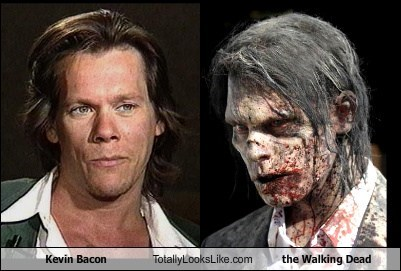 Kevin Bacon Totally Looks Like the Walking Dead
