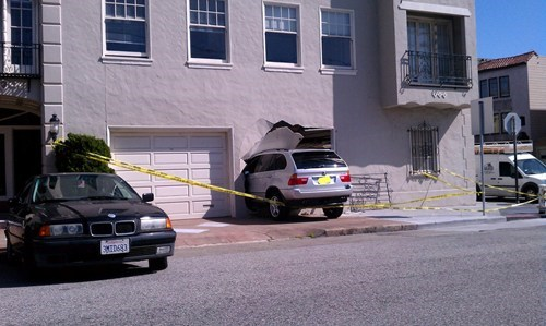 Narrow Garage Door FAIL