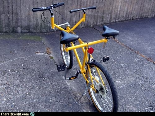 We're Still Not In Sync On This Bike Idea!
