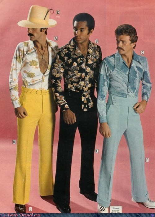 Poorly Dressed: The Three Amigos