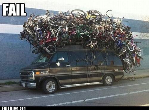 Extreme bike rack!