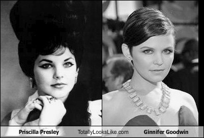 Priscilla Presley Totally Looks Like Ginnifer Goodwin