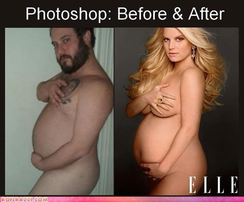 Photoshop: Before & After