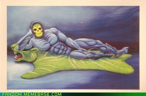 You Need to Work on Your 'Come Hither,' Skeletor