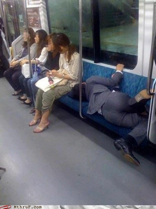 The Correct Way To Ride The Subway
