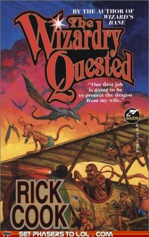 WTF Sci-Fi Book Covers:The Wizardry Quested