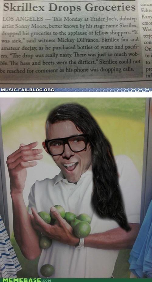 beat,drop,groceries,Limes Guy,Memes,skrillex