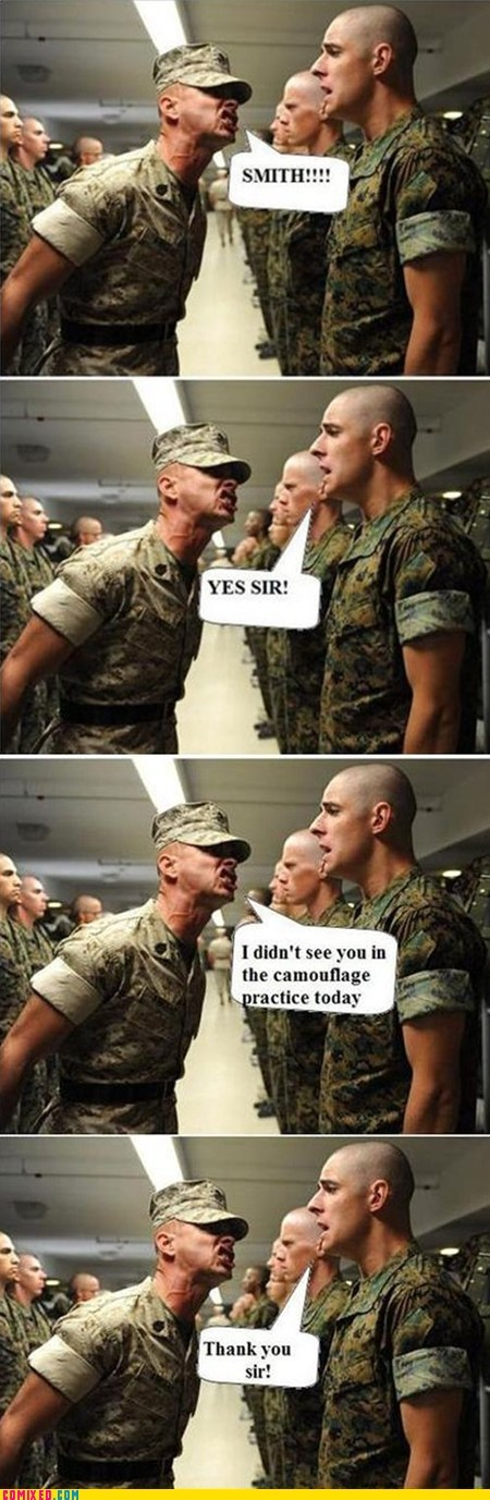 best of week,camouflage,drill sergeant,military,the internets