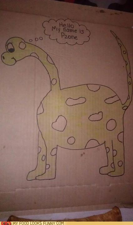 Pizza Hut Dinosaur