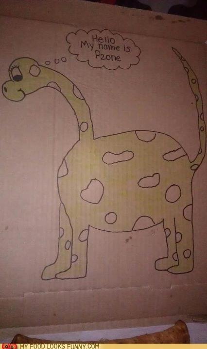 Pizza Hut Dinosaur