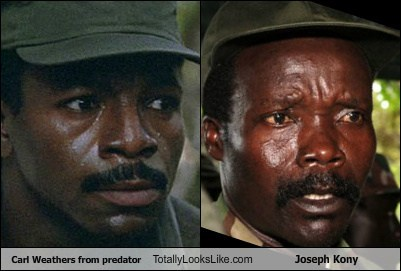 Carl Weathers from Predator Totally Looks Like Joseph Kony