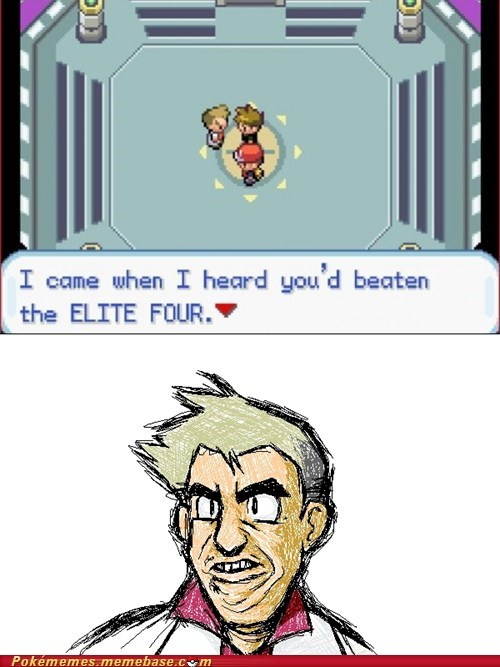 Dirty Professor Oak