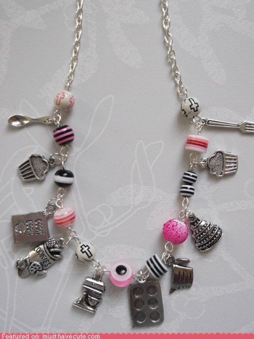 accessories,baking,beads,Charms,Jewelry,necklace