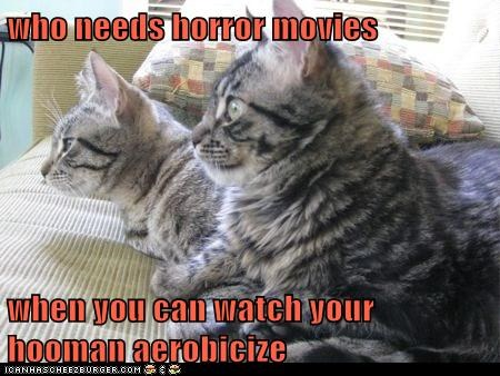 who needs horror movies