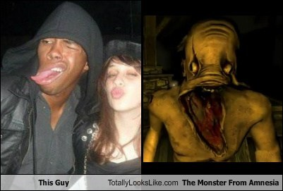 This Guy Totally Looks Like The Monster From Amnesia