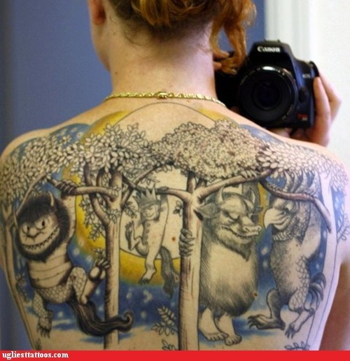 tattoo WIN,the return,where the wild things are