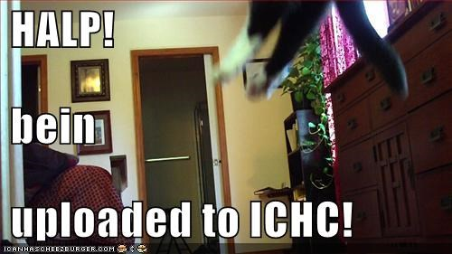HALP!  bein  uploaded to ICHC!
