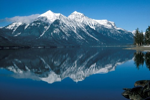 lake,mountain,national park